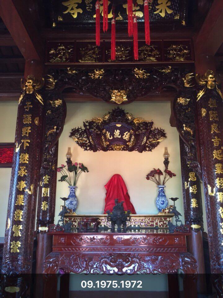 Cửa Võng phun PU thếp vàng 9999
