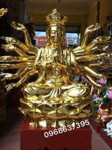 Tượng Phật thếp vàng 9999