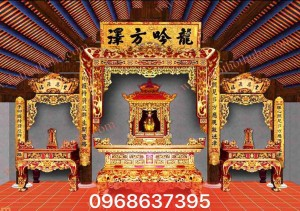 nội thất không gian thờ 006