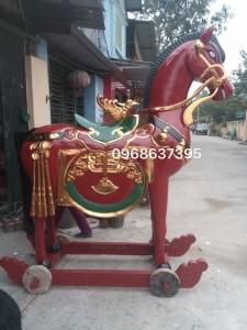 đôi ngựa thờ 02