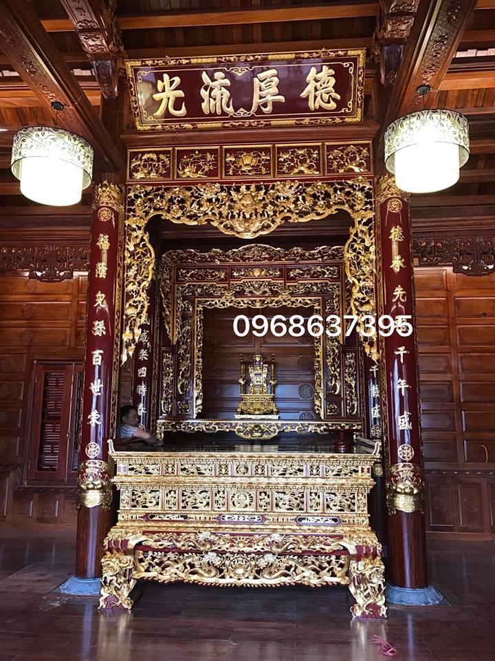 Không gian thờ nhà anh Chuyển ( Bắc Ninh )